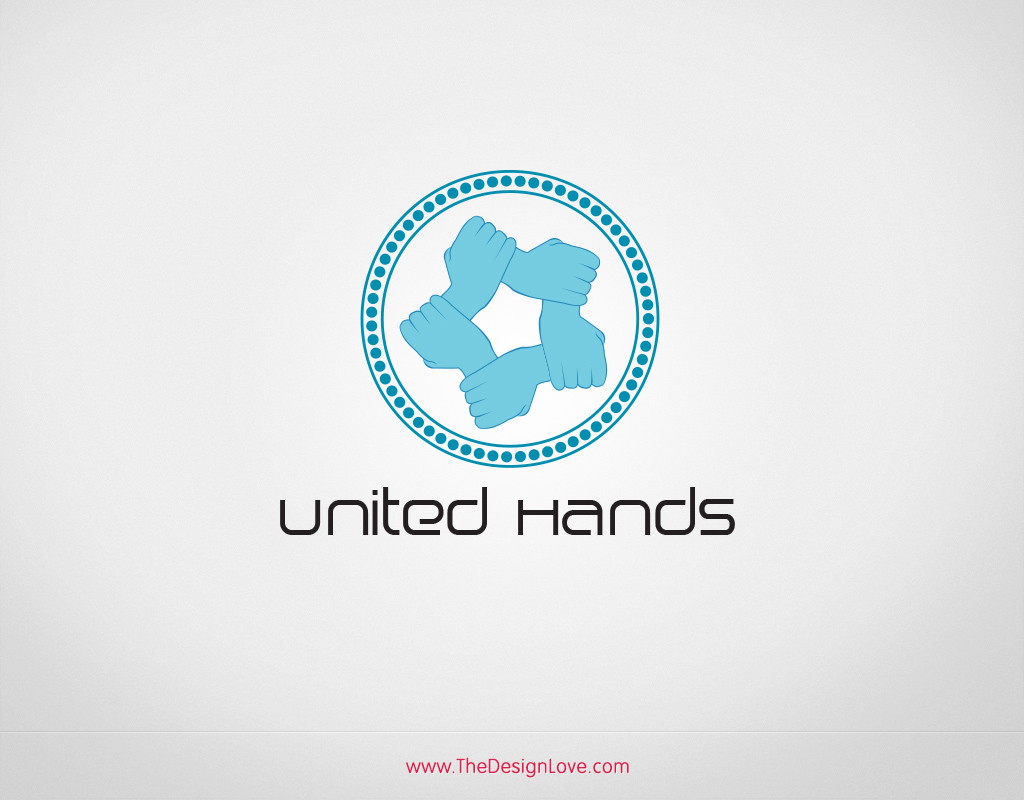 Free-united-hands-logo