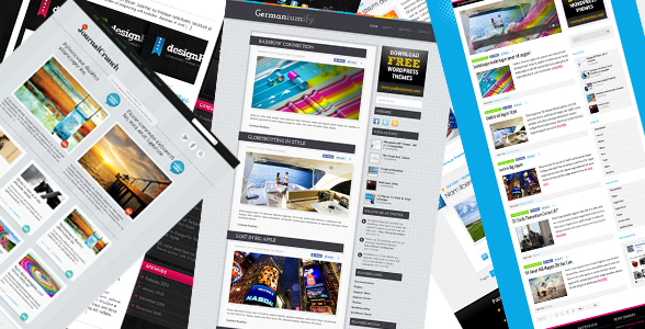12 Free Wordpress Magazine Themes To Die For!