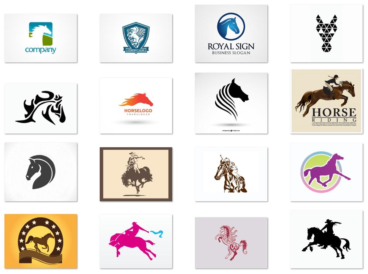 18-free-vector-horse-logos-for-start-ups
