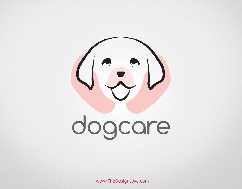 free-vector-logo-for-dog-care-start-up