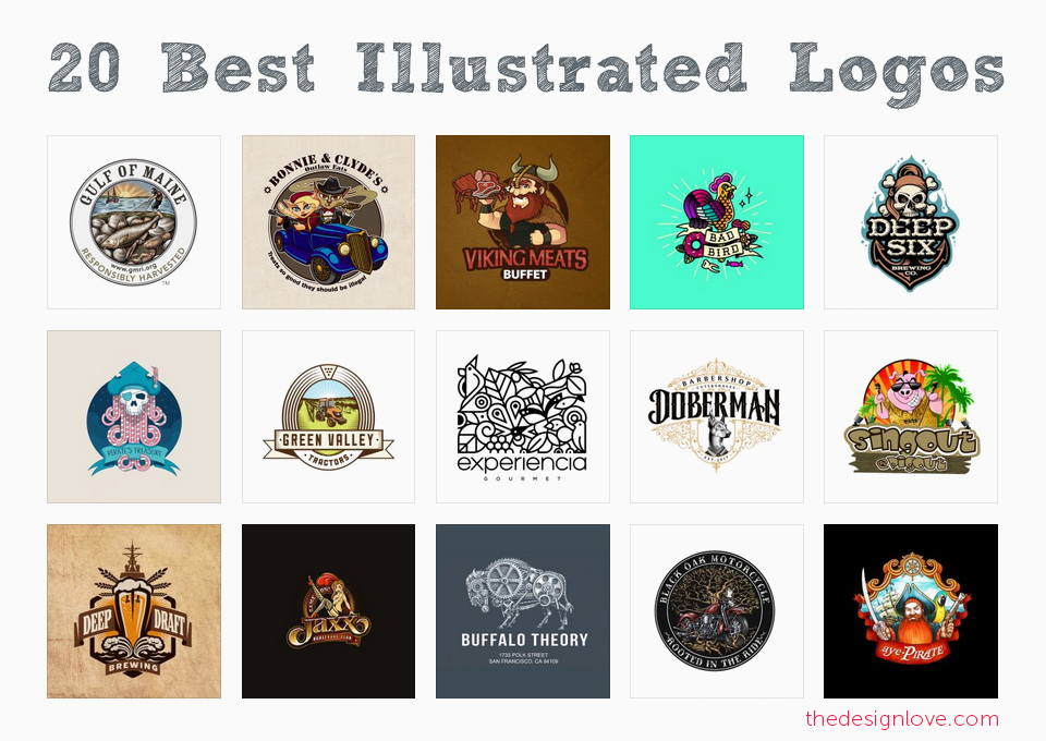 20-best-inspiring-examples-of-illustrated-logos