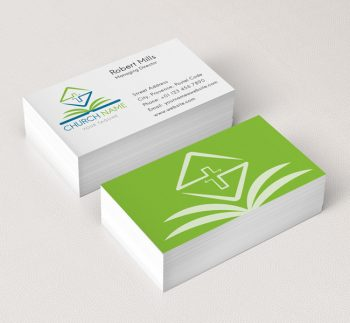 006-Church-Logo-with-Bible-Business-Card-Template-03