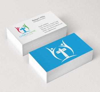 006-People-Cross-Logo-with-Cross-Business-Card-Template-03
