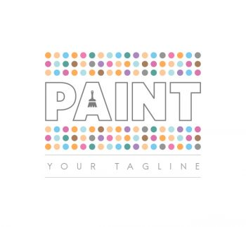 Paint Logo & Business Card Template