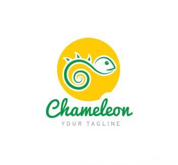 Chameleon Logo & Business Card Template