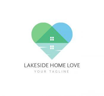 Lakeside Reality Logo & Business Card Template