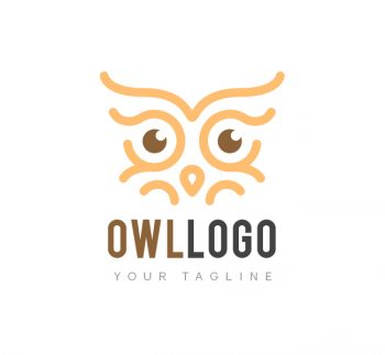 Owl Eyes Logo & Business Card Template