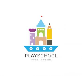 Play School Logo & Business Card Template