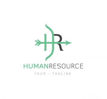 HR Logo & Business Card Template