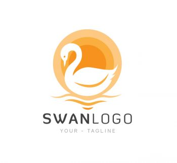 The Swan Logo & Business Card Template