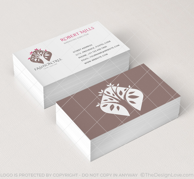 075-Fashion-Tree-Logo-&-Business-Card-Template