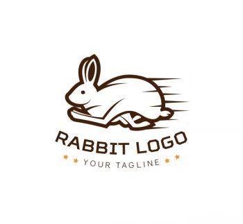 Running Rabbit Logo & Business Card Template