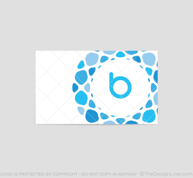 Blue-Pebbles-Business-Card-Template-Back