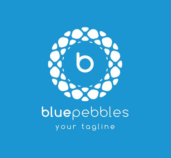 Pre-Made-Blue-Pebbles-Logo