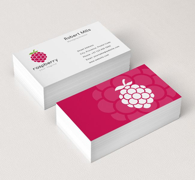 Raspberry-Business-Card