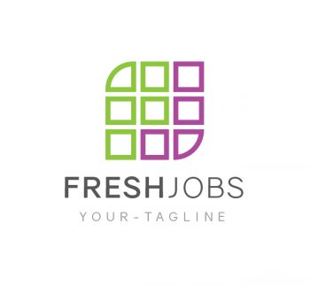 Fresh Jobs Logo & Business Card Template