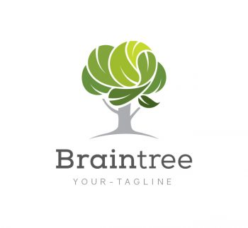 Brain Tree Logo & Business Card Template