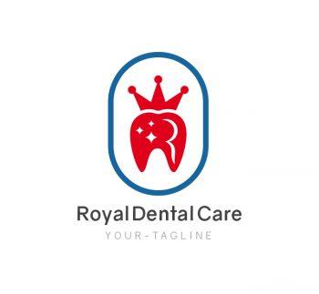 Royal Dental Care Logo & Business Card Template