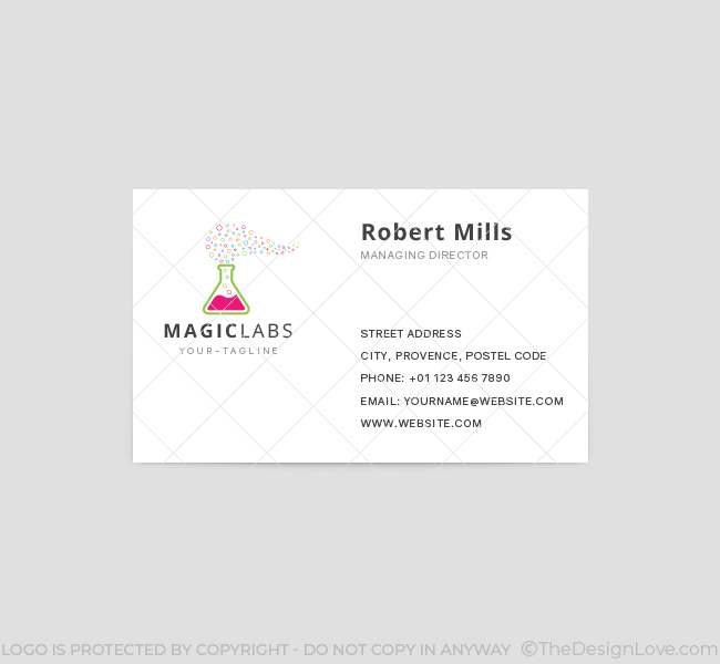 Magic-Labs-Business-Card-Template-Front