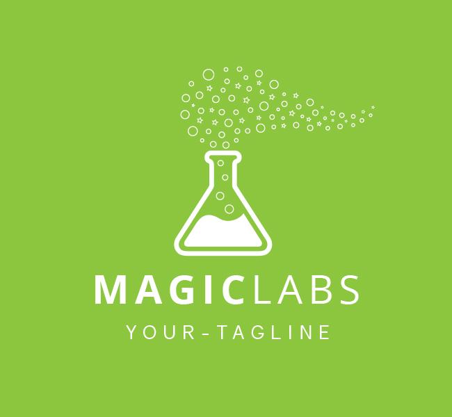 Pre-Made-Magic-Labs-Logo-White