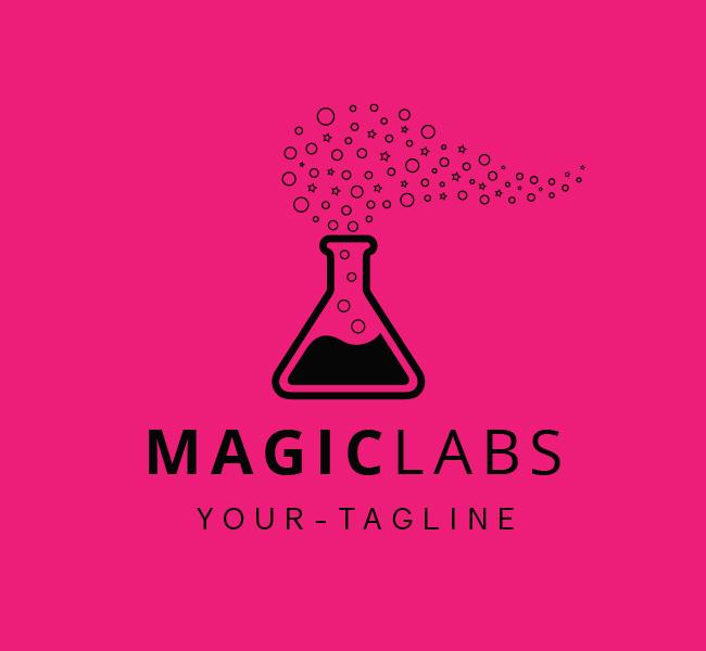 Ready-Logo-Magic-Labs-Black