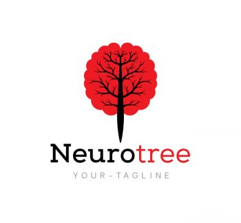 Neuro Tree Logo & Business Card Template