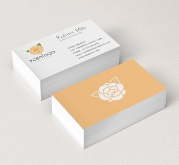Rose-Business-Card-Mockup
