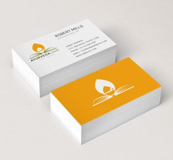 143-Ayurveda-Business-Card-Mockup