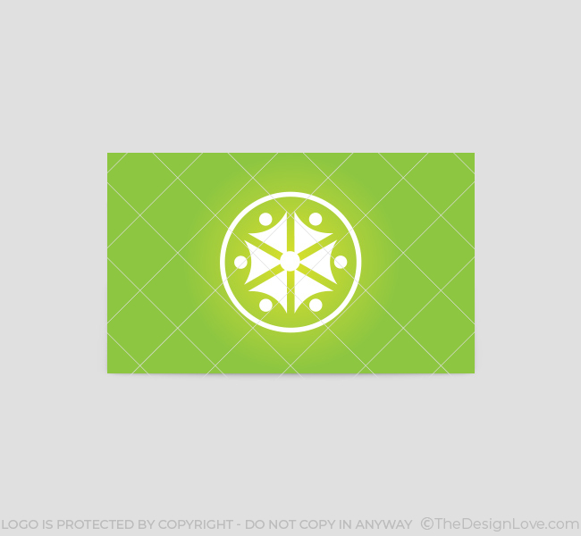 Green-People-Business-Card-Template-Back
