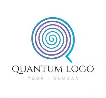 212 Quantum Logo & Business Card Template