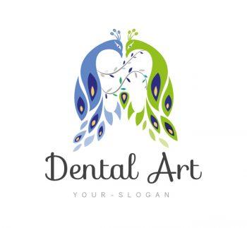 Dental Art Logo & Business Card Template