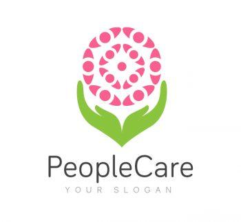 People Care Logo & Business Card Template
