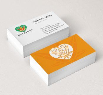 Weed-Love-Business-Card-Mockup