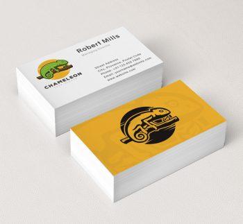 Green-Chameleon-Business-Card-Mockup