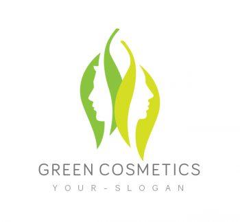 Green Cosmetics Logo & Business Card Template