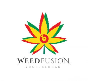 Weed Fusion Logo & Business Card Template