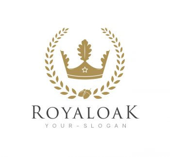 Royal Oak Logo & Business Card Template