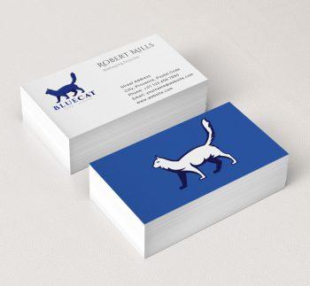 Cat-Logo-Business-Card-Mockup