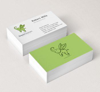 Flying-Elephant-Business-Card-Mockup