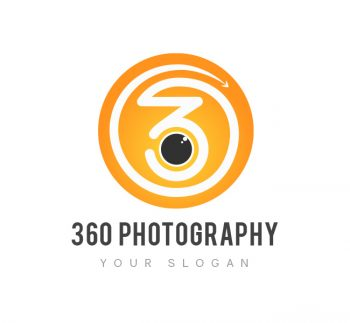 360 Photography Logo & Business Card Template