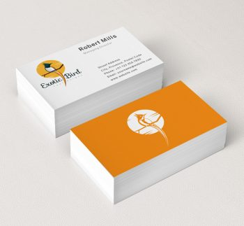 Exotic-Bird-Business-Card-Mockup
