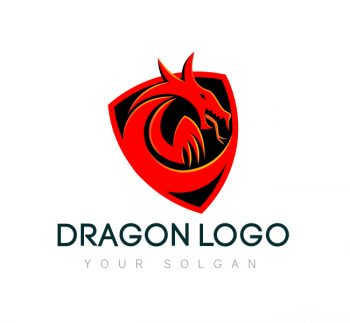 Dragon Logo & Business Card Template