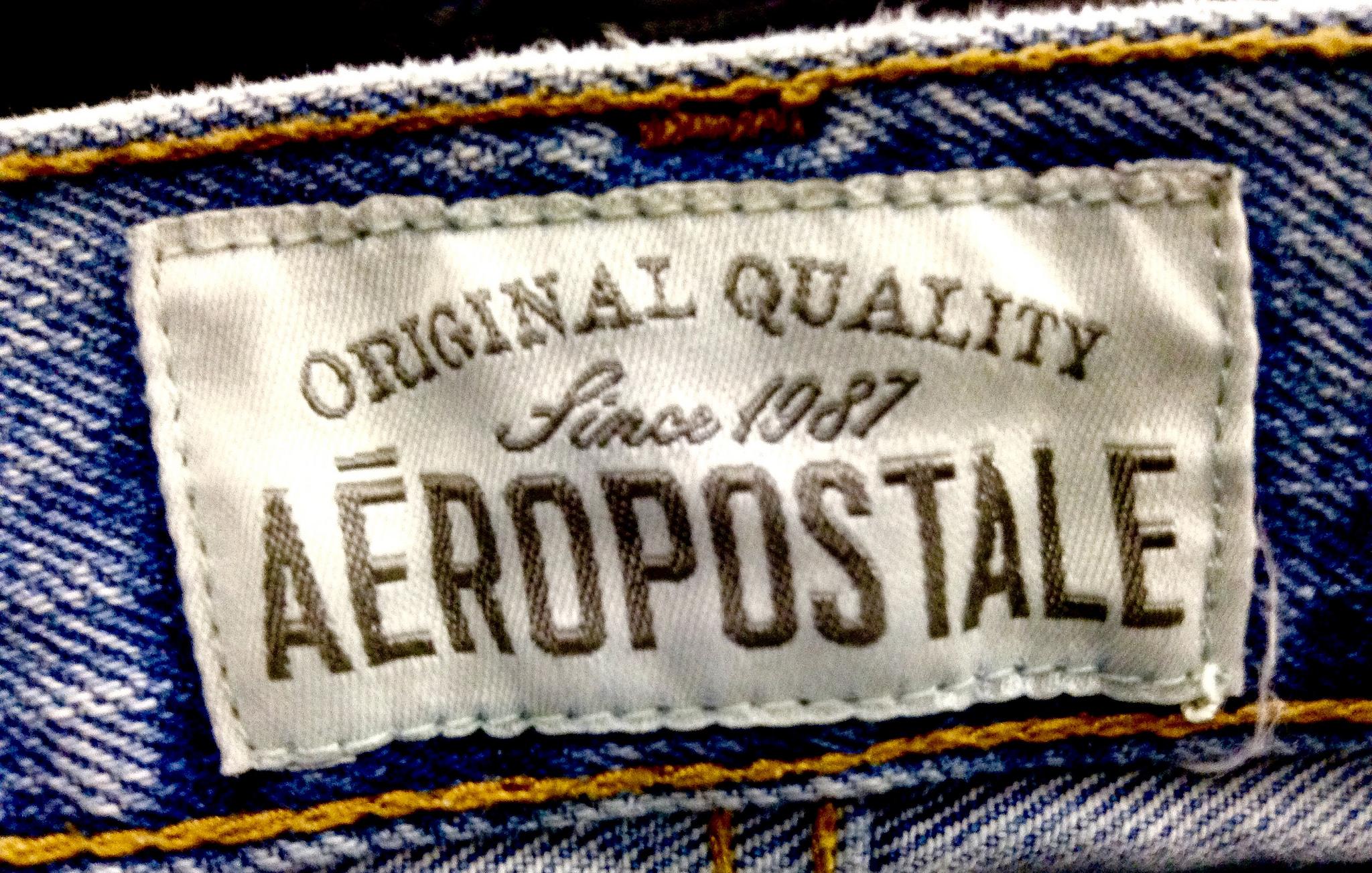 Aeropostale Jeans Label