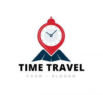 Time Travel Logo & Business Card Template
