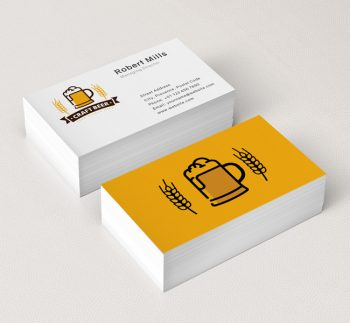 376-Beer-Mug-Business-Card-Mockup