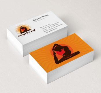 Power-Yoga-Restaurant-Business-Card-Mockup