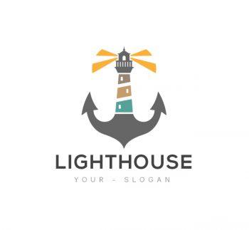 Lighthouse Logo & Business Card Template