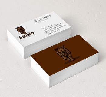 The-Rhino-Business-Card-Mockup