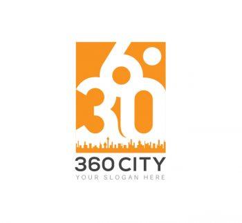 360 City Logo & Business Card