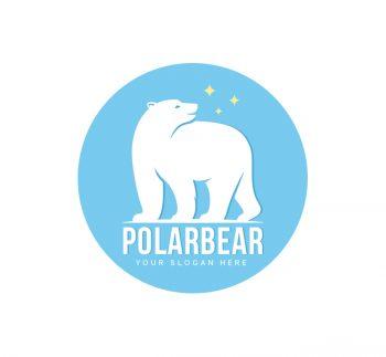 Polar Bear Logo & Business Card Template